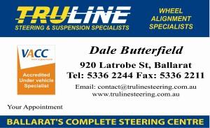Truline business card