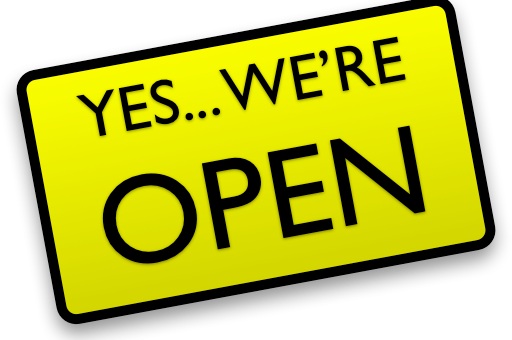 BOOKS AND MORE IS OPEN FOR 2015