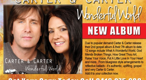 NEW GOSPEL ALBUM FROM CARTER & CARTER