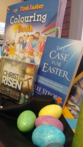 EASTER IN THE BOOKSHOP