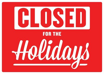BOOKS AND MORE CLOSED DURING JANUARY