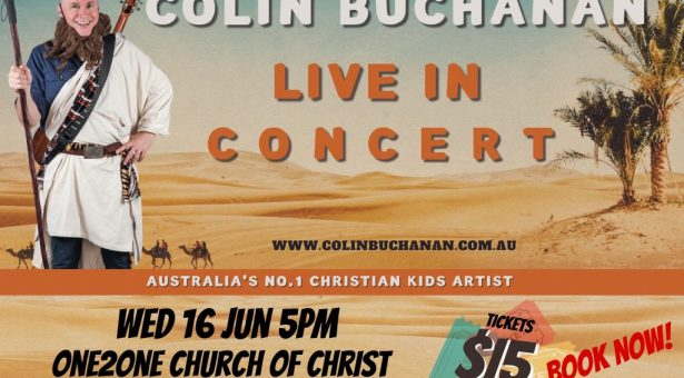 COLIN BUCHANAN CONCERT DATE CHANGED